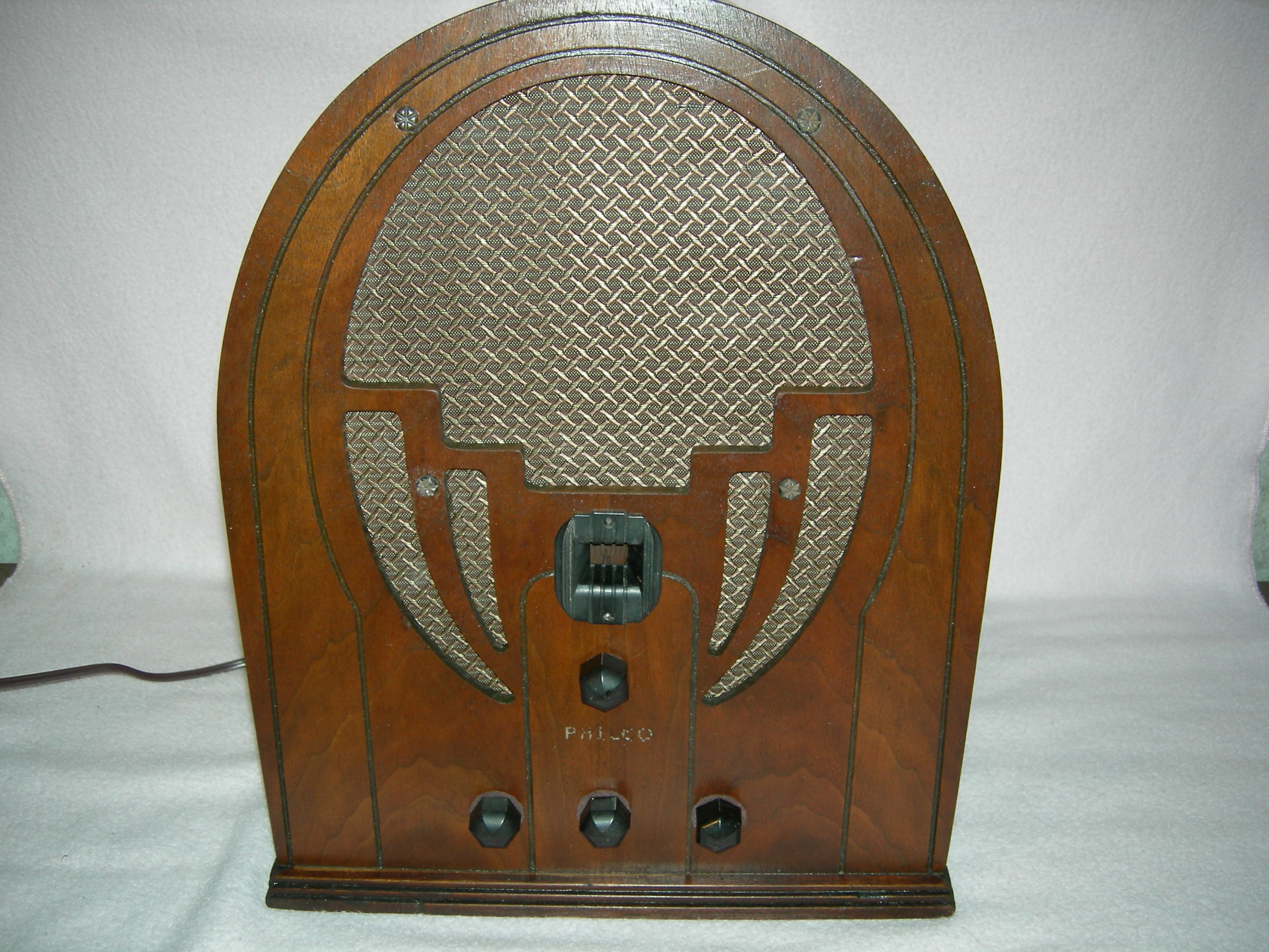 Philco Model 60 Cabinet
