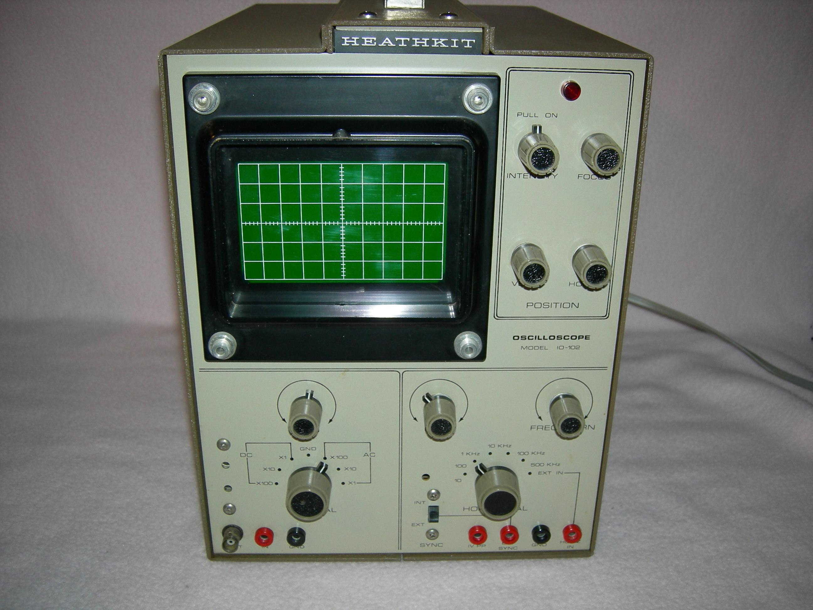 Heathkit IO-102 Front