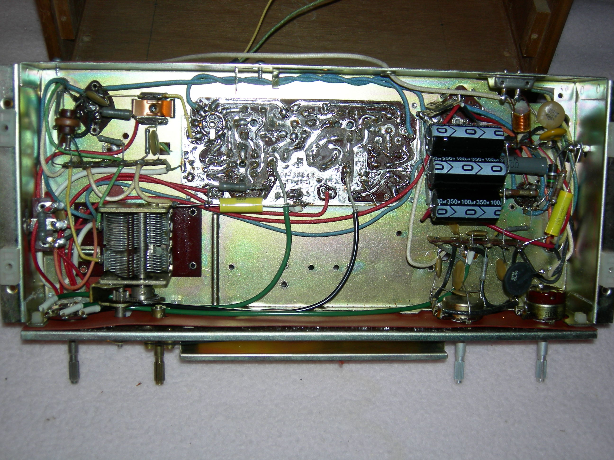 Magnavox FM040 Under Chassis Restored