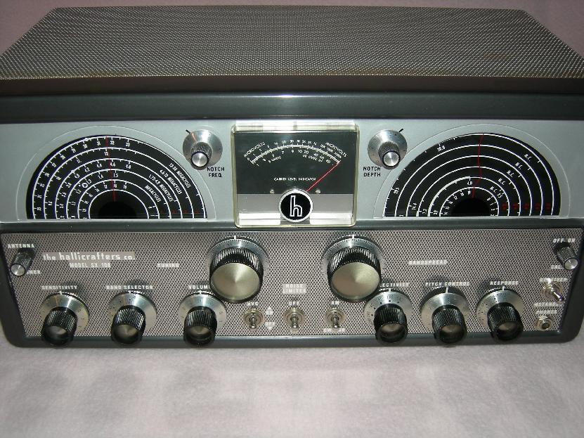 Hallicrafters SX-100 Front