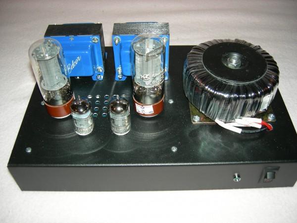 6L6 Amplifier Front No Cage