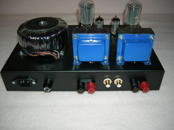 6L6 SE Amplifier Back No Cage
