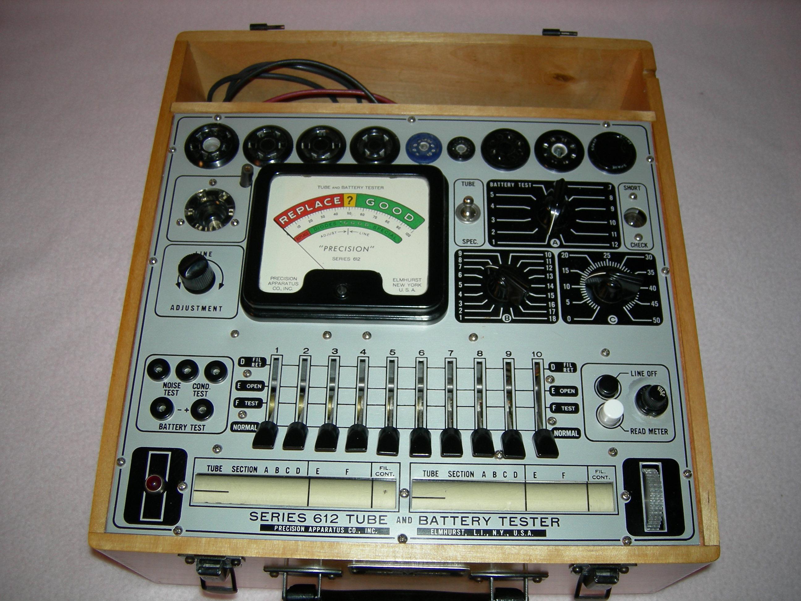 Precision 612 Tube Tester
