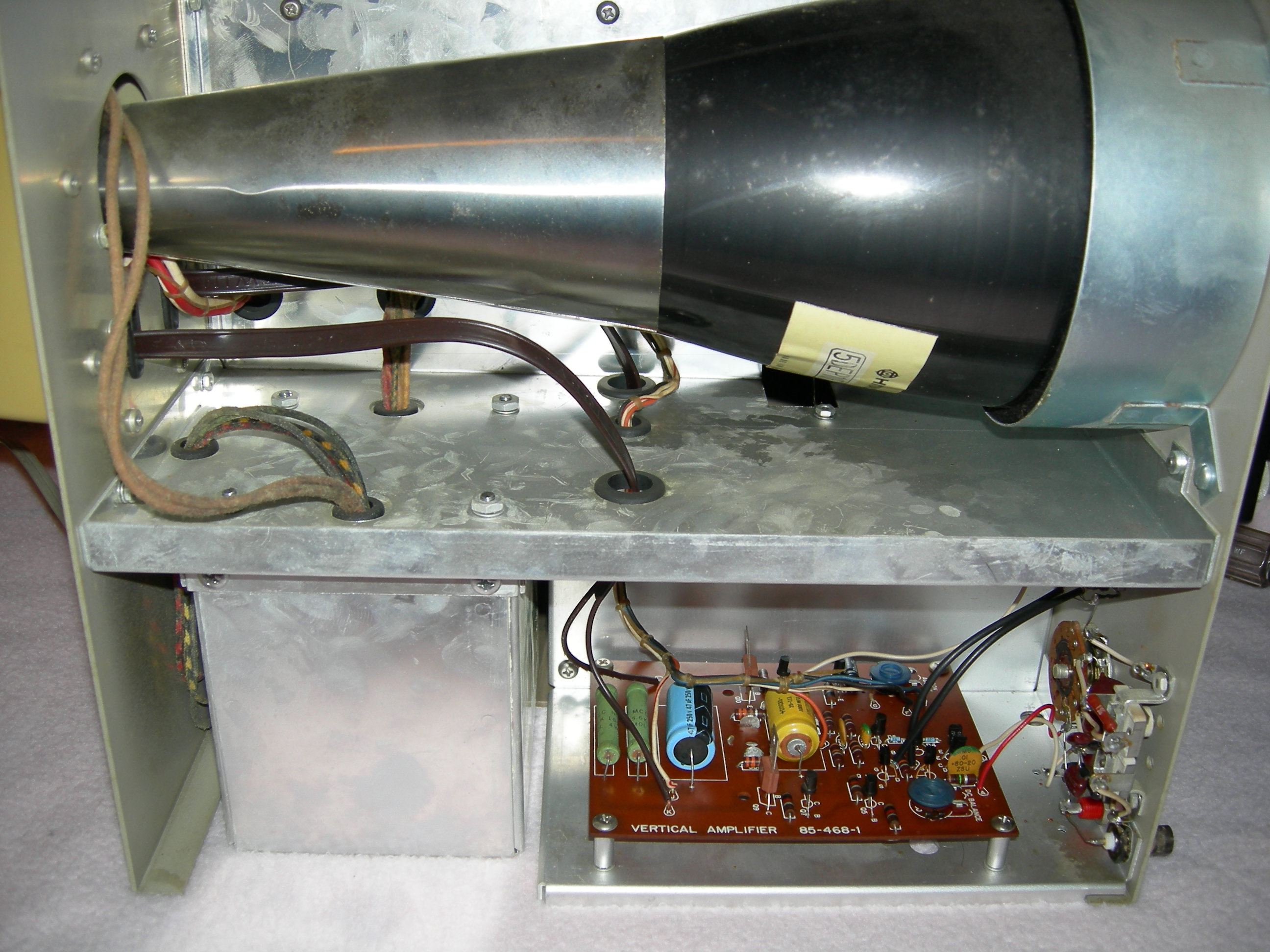 Heathkit IO-102 CRT and Vertical Amplifier