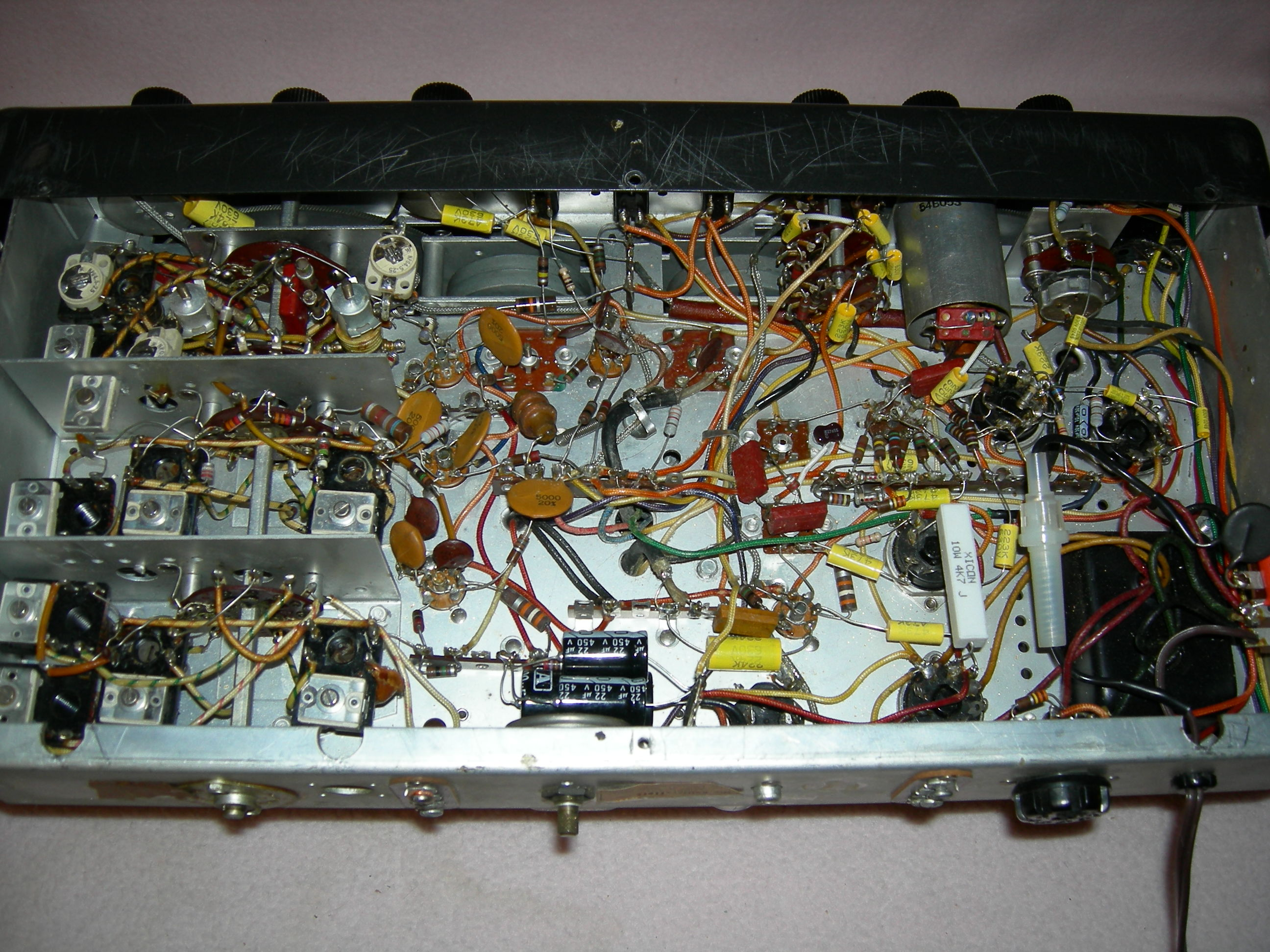 SX-96 Under Chassis
