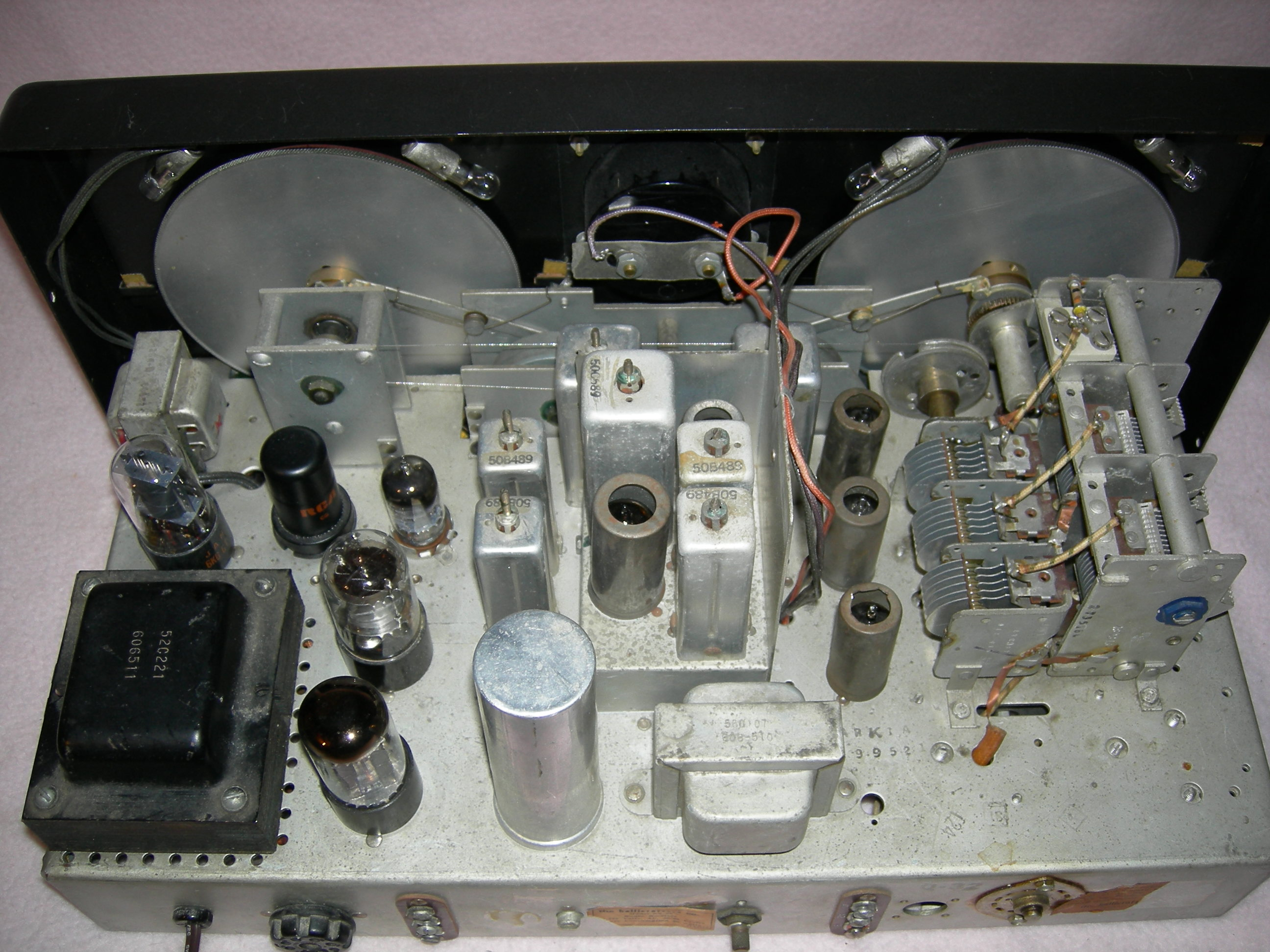SX-96 Chassis Top